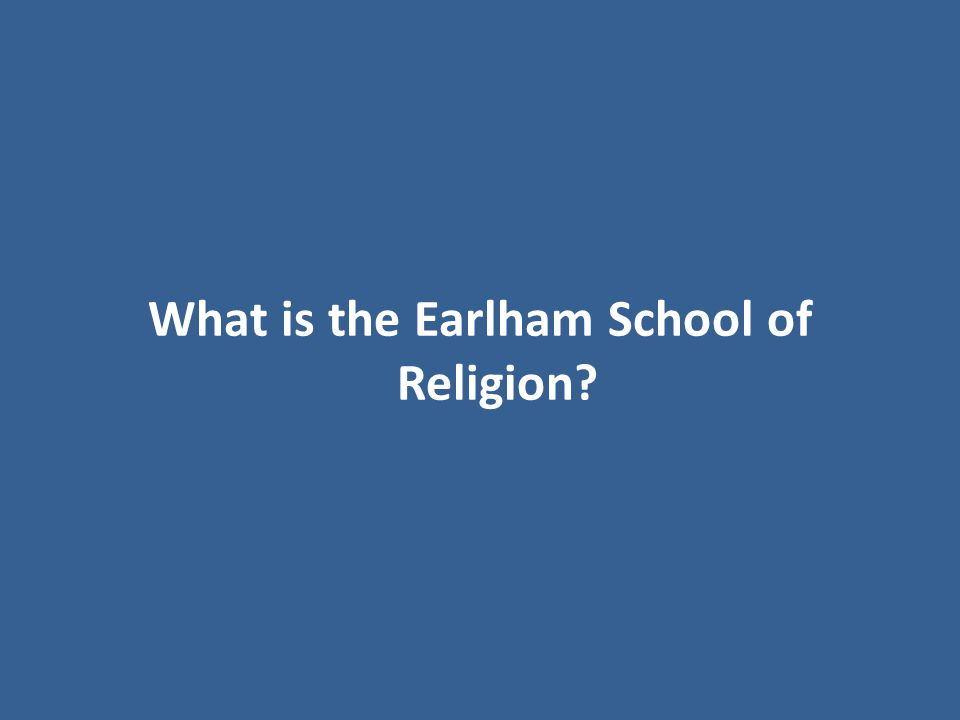 This school of religion takes its name from the family estate of English Orthodox Quaker Joseph John Gurney.