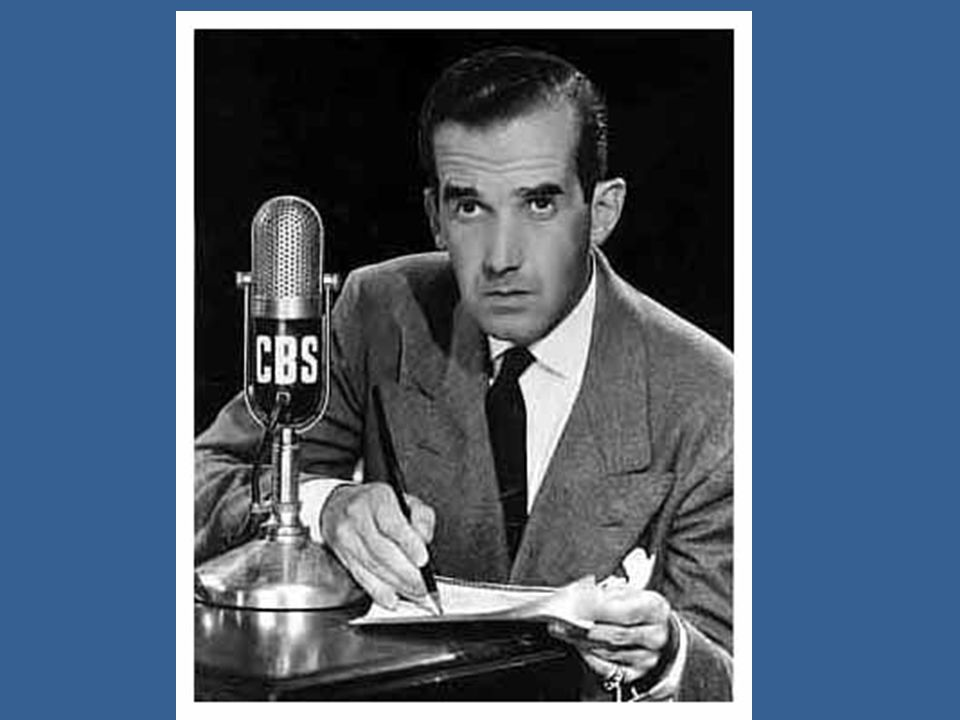 Who was Edward R. Murrow