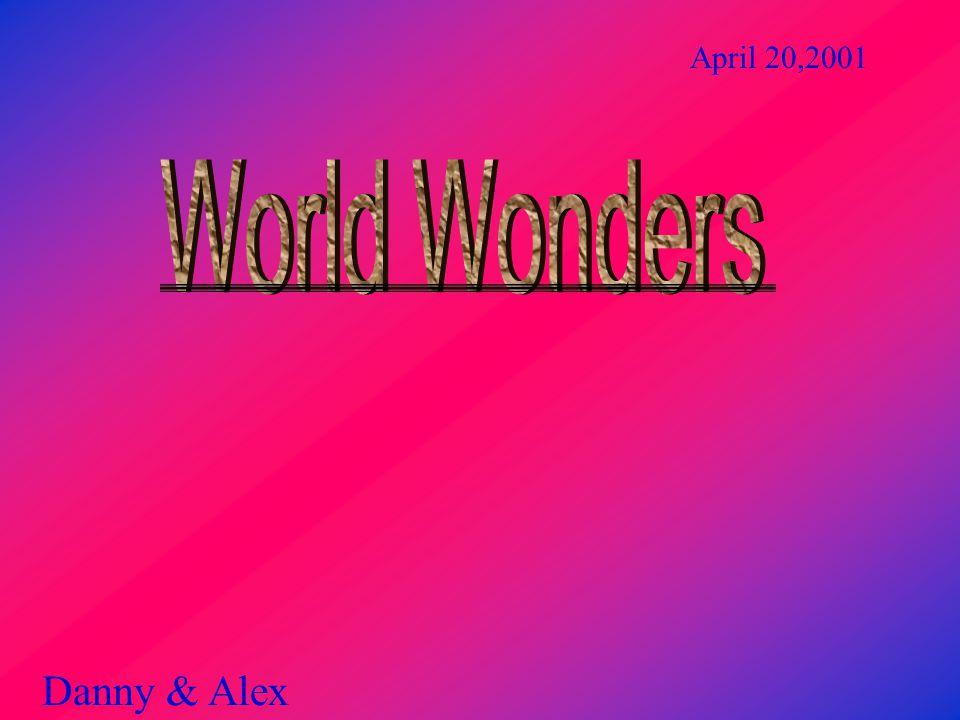 Danny & Alex April 20,2001