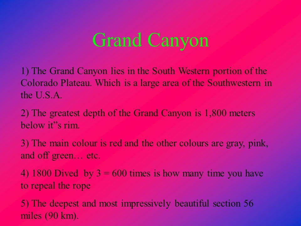 Meteor Crater 1) Canyon Diablo region 19 miles (30 km) Winslow,Arizona, U.S.