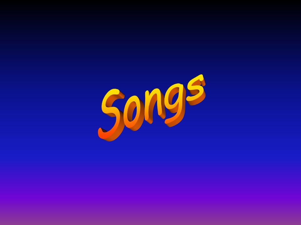 Objectives of Songs Session Songs are one good way to liven up the atmosphere whether it is during a campfire or training time.
