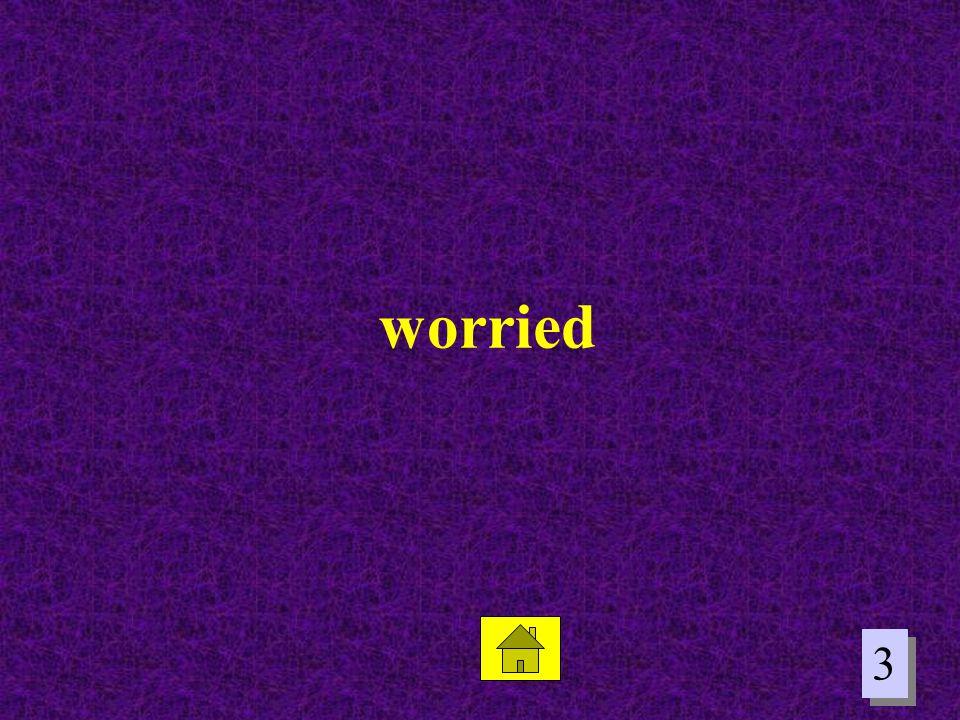 3 3 worried