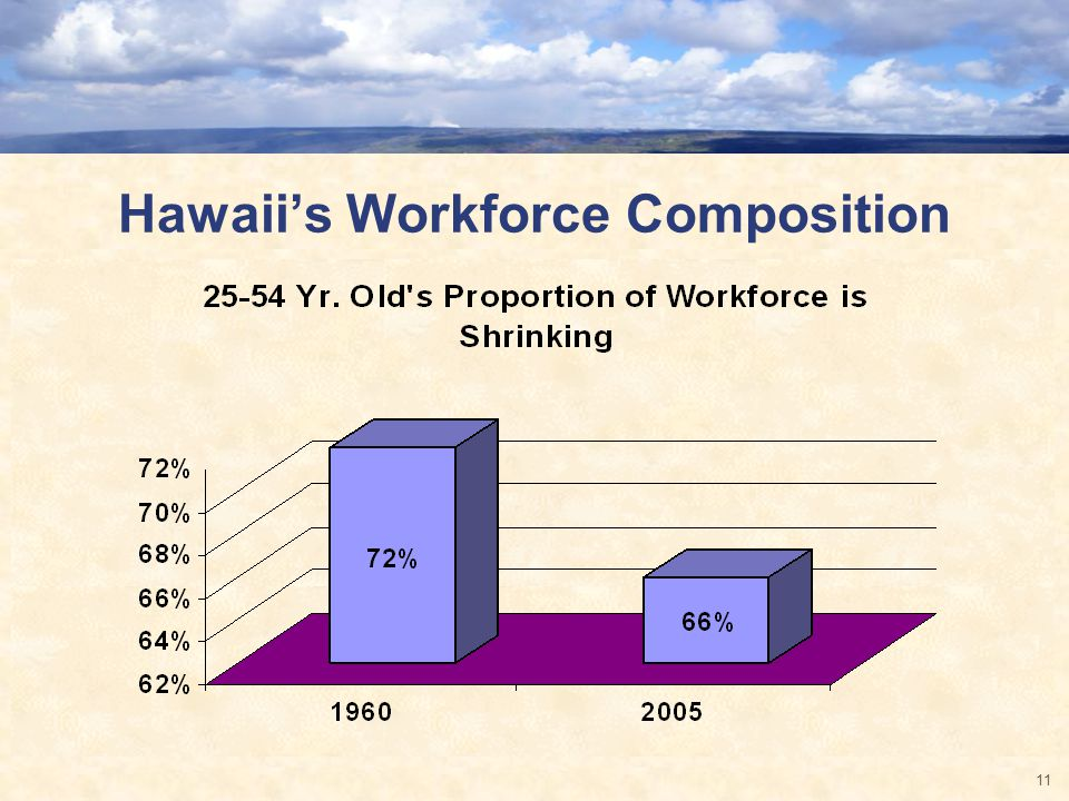 Hawaiis Workforce Composition 11