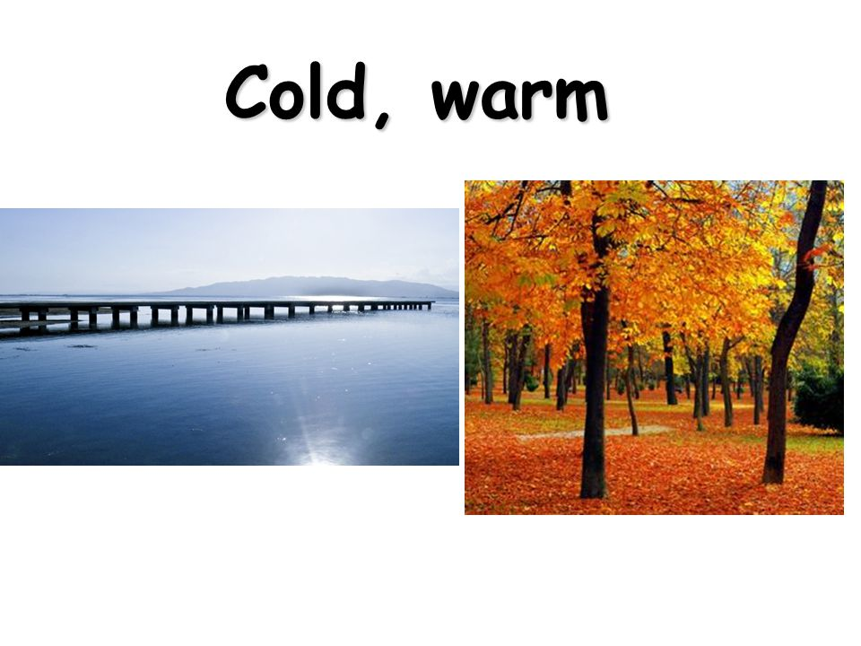 Cold, warm
