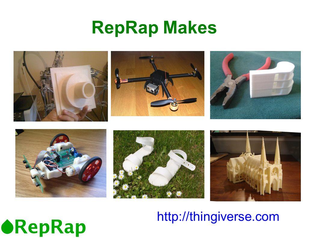 RepRap Makes http://thingiverse.com