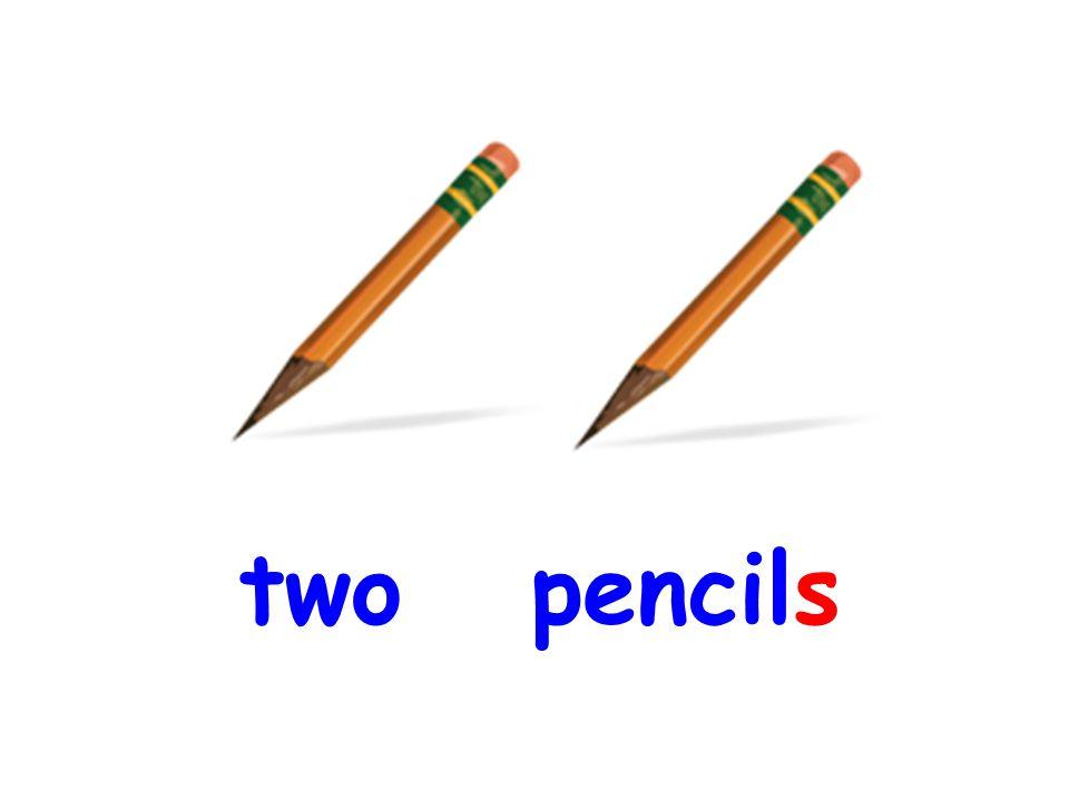 a. A pencil