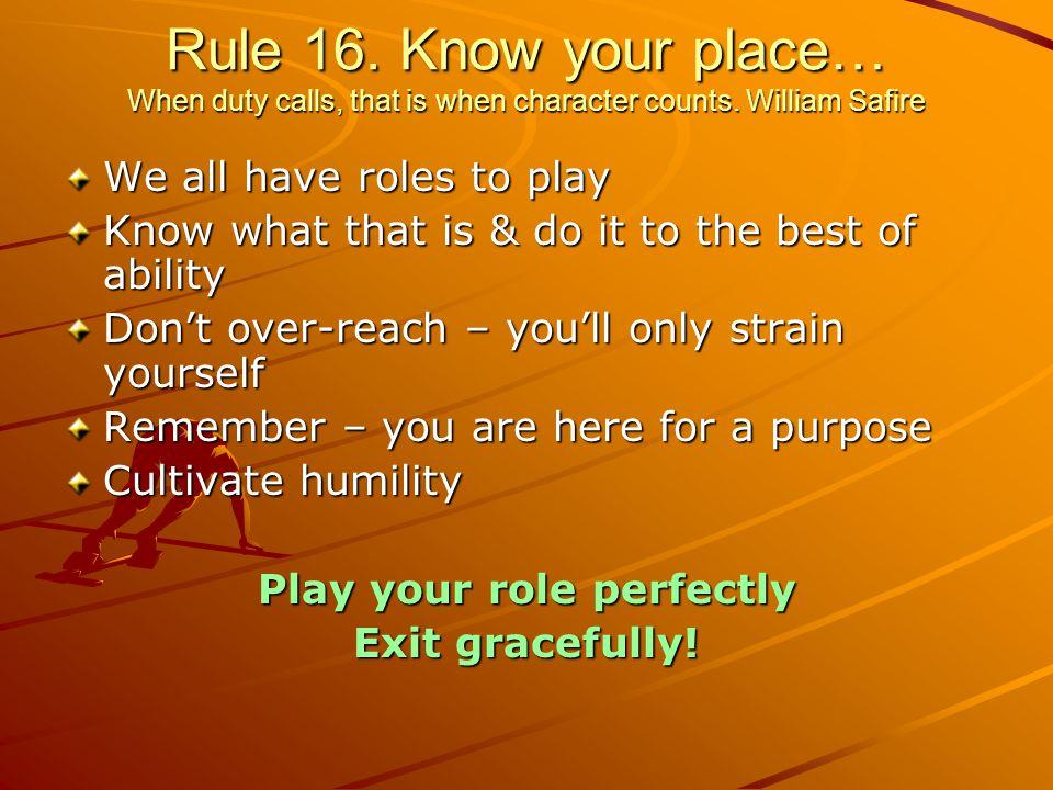 Rule 15.