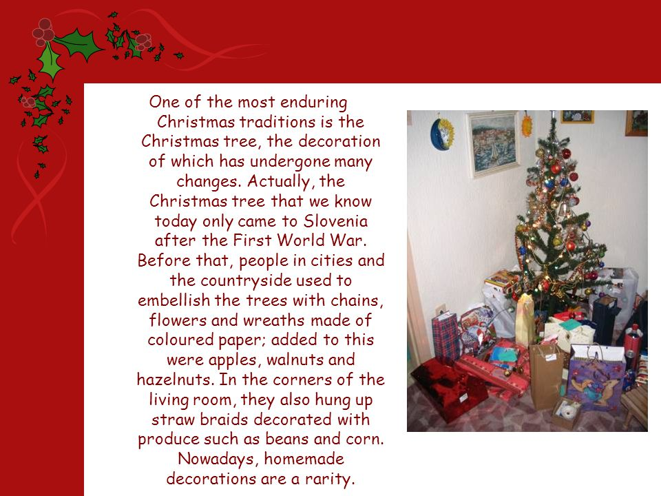 Decorations may be an integral part of the celebration, yet Christmas time is foremost a time of gift giving.