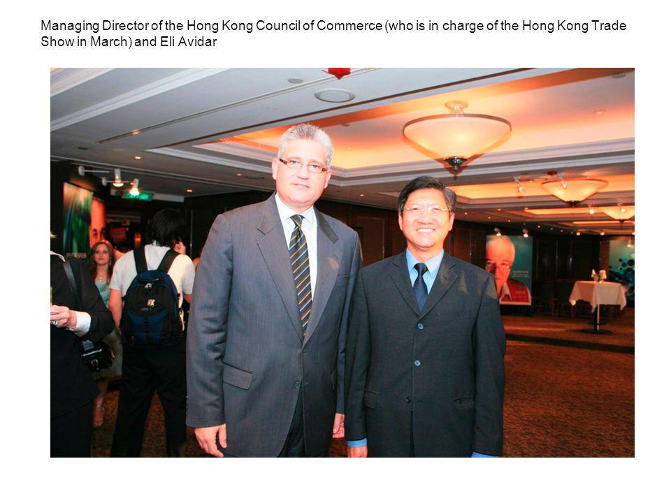 From the left: IGI CEO Marc Bruner, a journalist from the Jewish Newspaper of Asia and a Brinks employee in Hong Kong