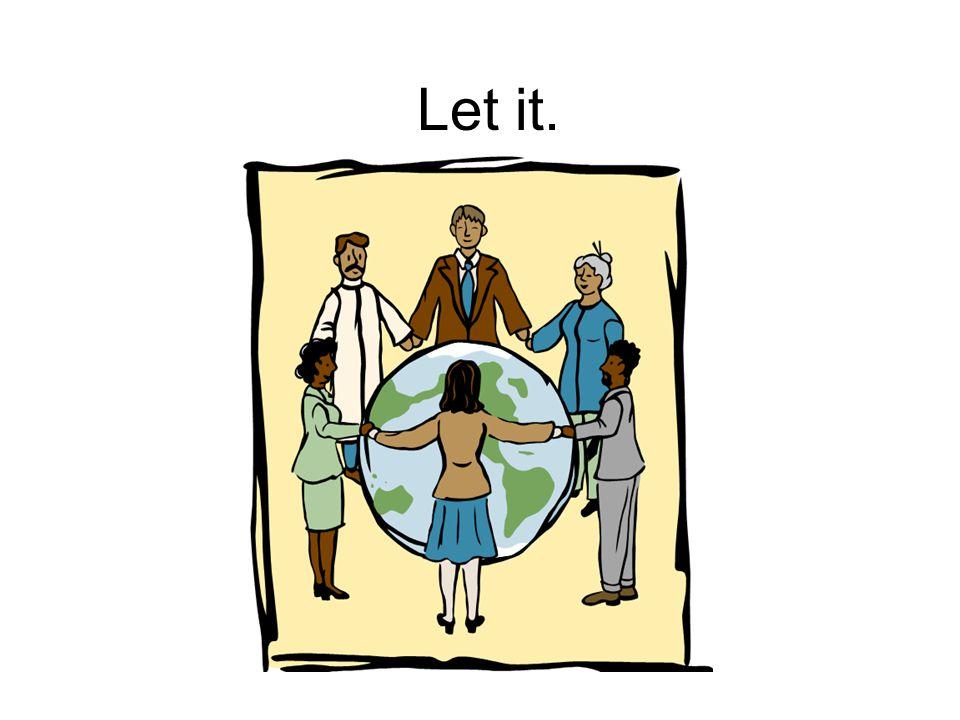Let it.
