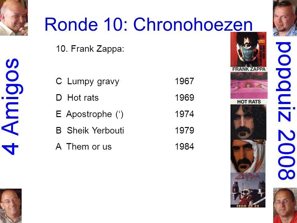Ronde 10: Chronohoezen 10.