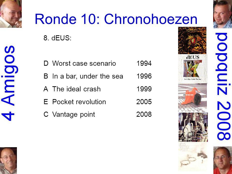 Ronde 10: Chronohoezen 8.