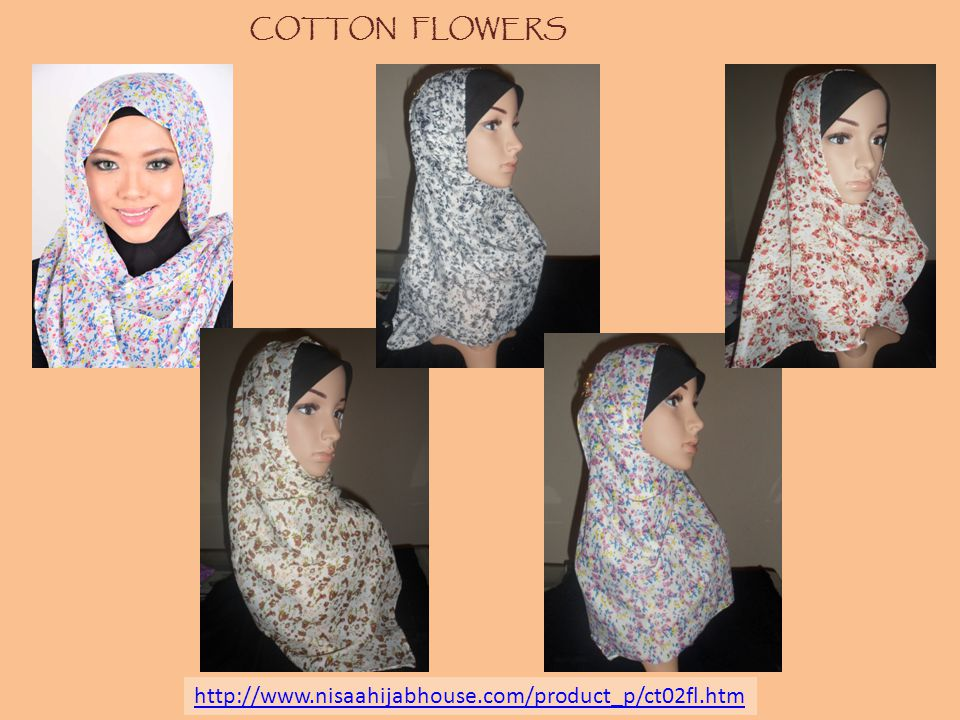 COTTON FLOWERS http://www.nisaahijabhouse.com/product_p/ct02fl.htm