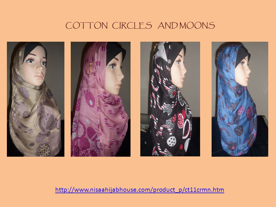 COTTON CIRCLES AND MOONS http://www.nisaahijabhouse.com/product_p/ct11crmn.htm