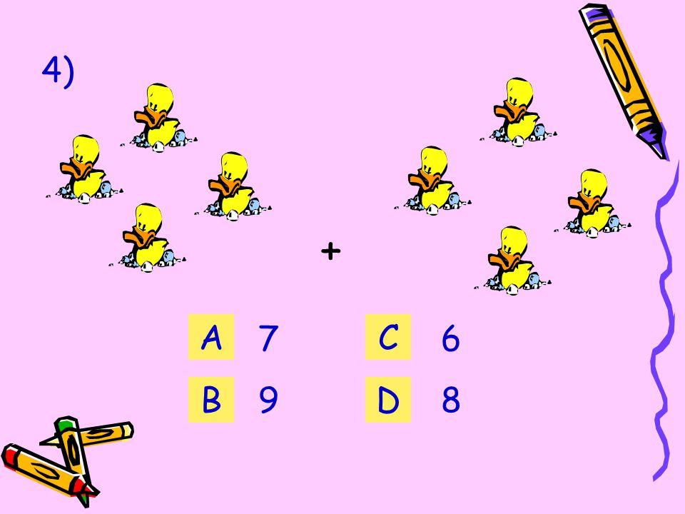 3) + 2 3 A B C D 5454 3636