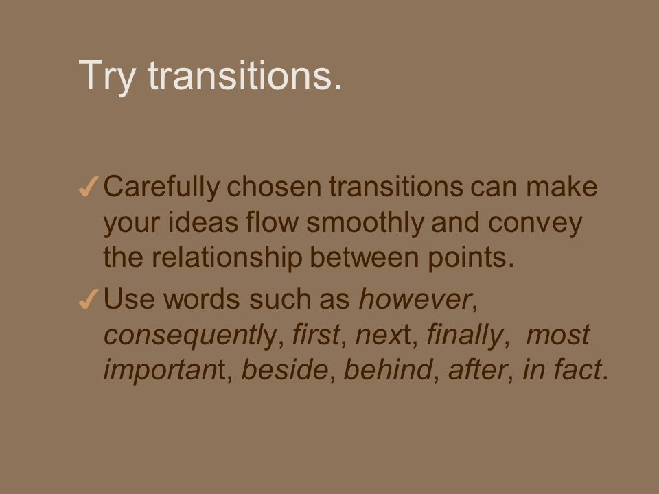 Try transitions.
