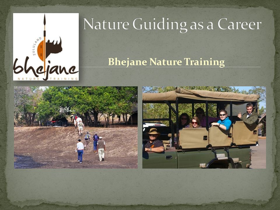 Bhejane Nature Training