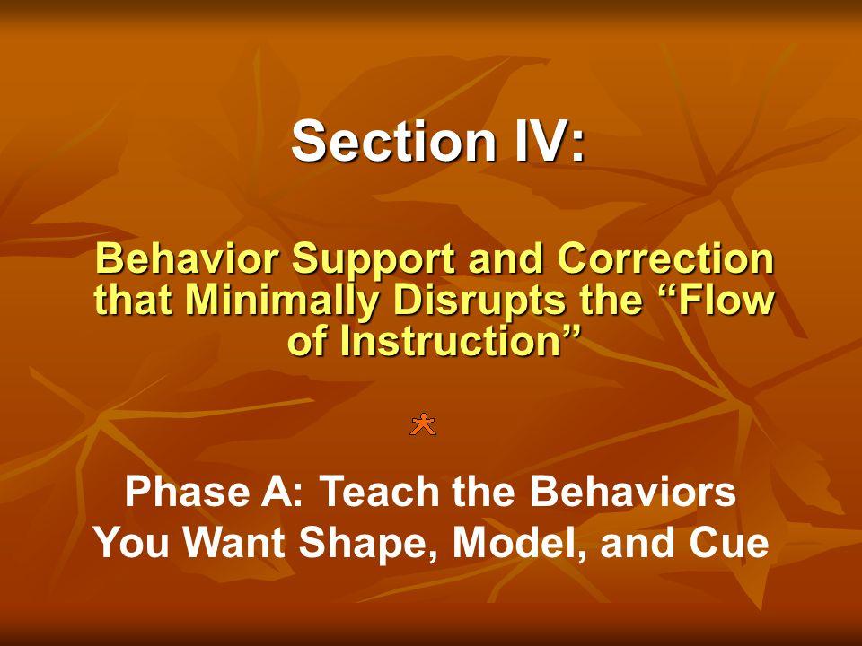 How do you read behavior