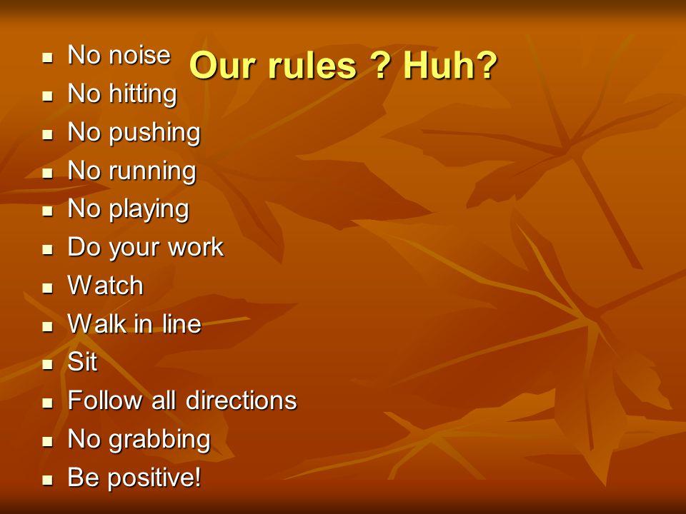 Teach Rules for Success