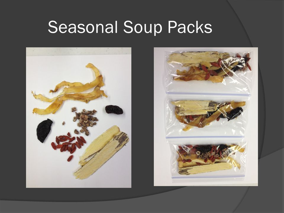 Seasonal Soup Packs