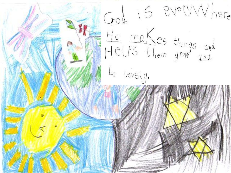 Who Is God.Joao Age 7 I think God is hope.