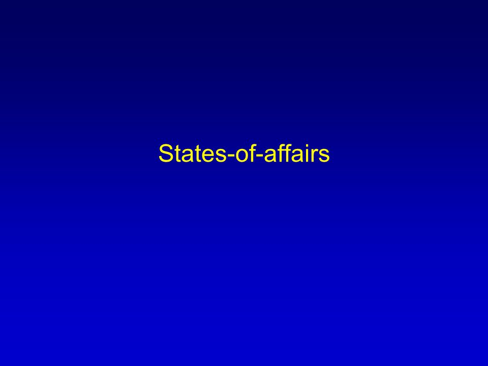 States-of-affairs