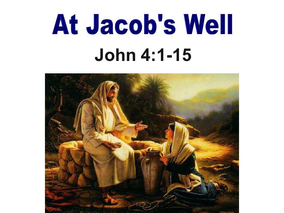 John 4:1-15