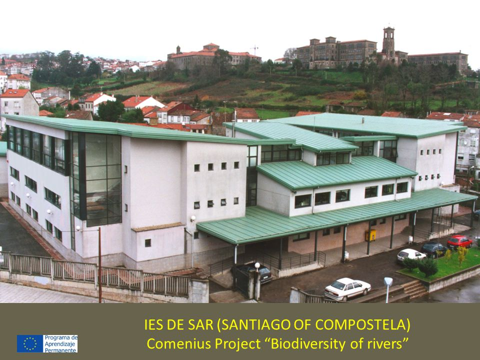 IES DE SAR (SANTIAGO OF COMPOSTELA) Comenius Project Biodiversity of rivers