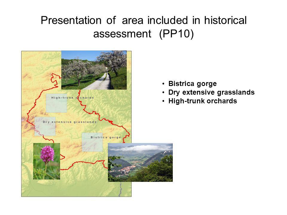 Bistrica gorge Dry extensive grasslands High-trunk orchards