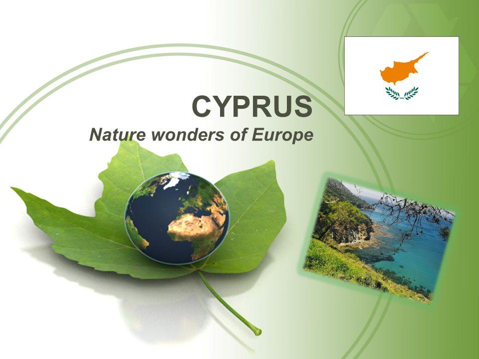 CYPRUS Nature wonders of Europe