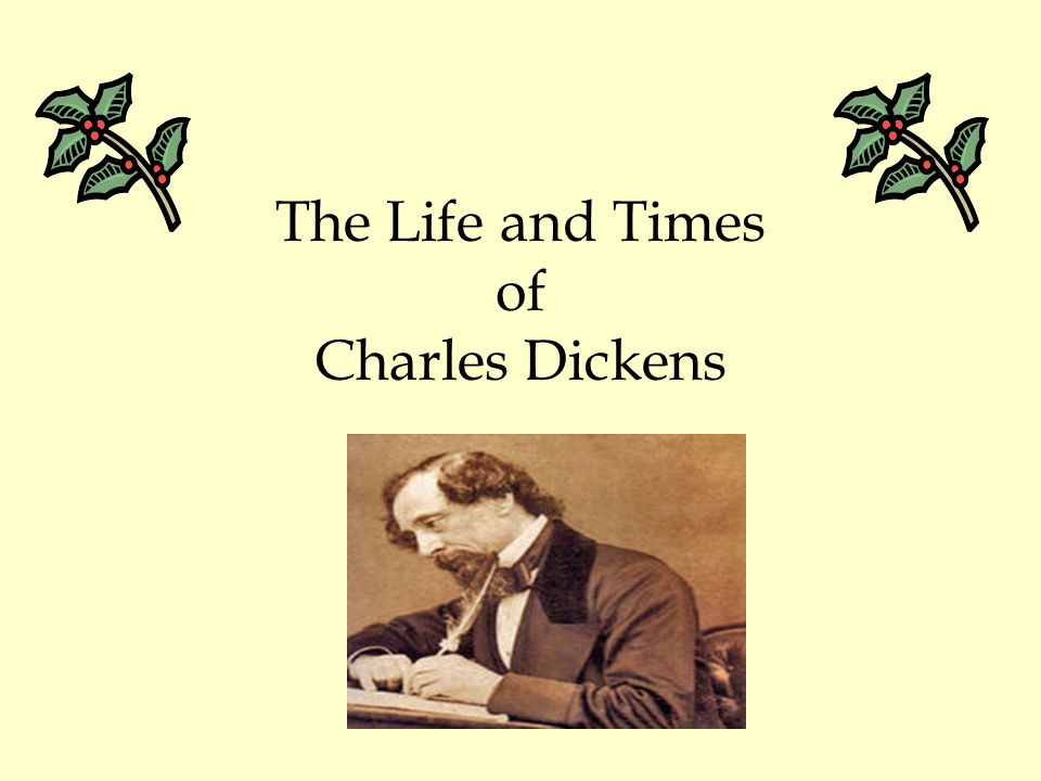 The Life of Charles Dickens When Charles was 12, he was pulled out of school to work in a boot-blacking factory to support the family.