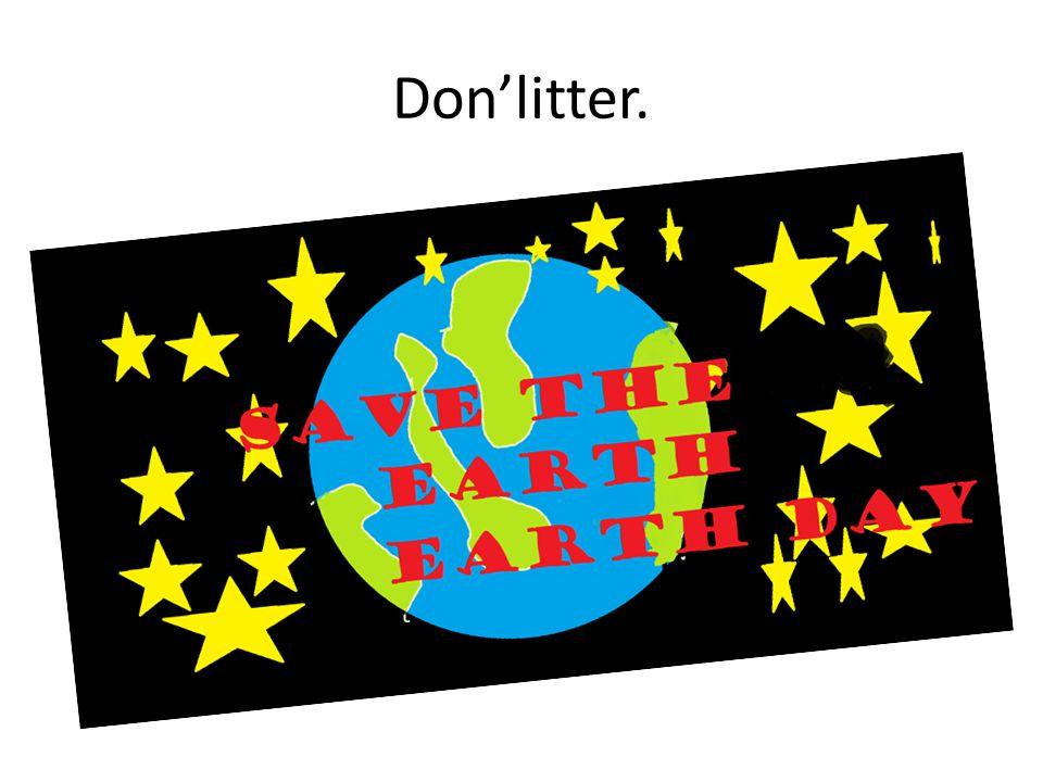 Donlitter.