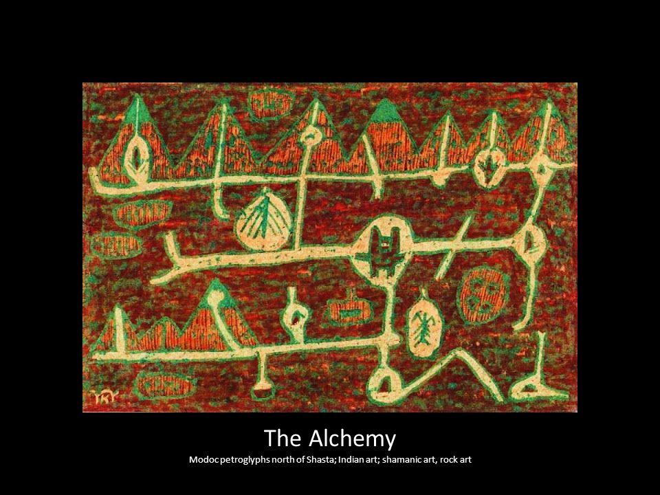 The Alchemy Modoc petroglyphs north of Shasta; Indian art; shamanic art, rock art