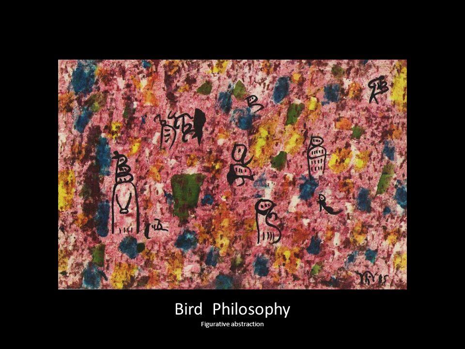Bird Philosophy Figurative abstraction
