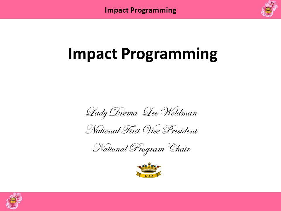Impact Programming Top Teens of America The Vivian Coe Richard Leadership Academy Texas Medical Center Houston, TX July 15 – July 22, 2012