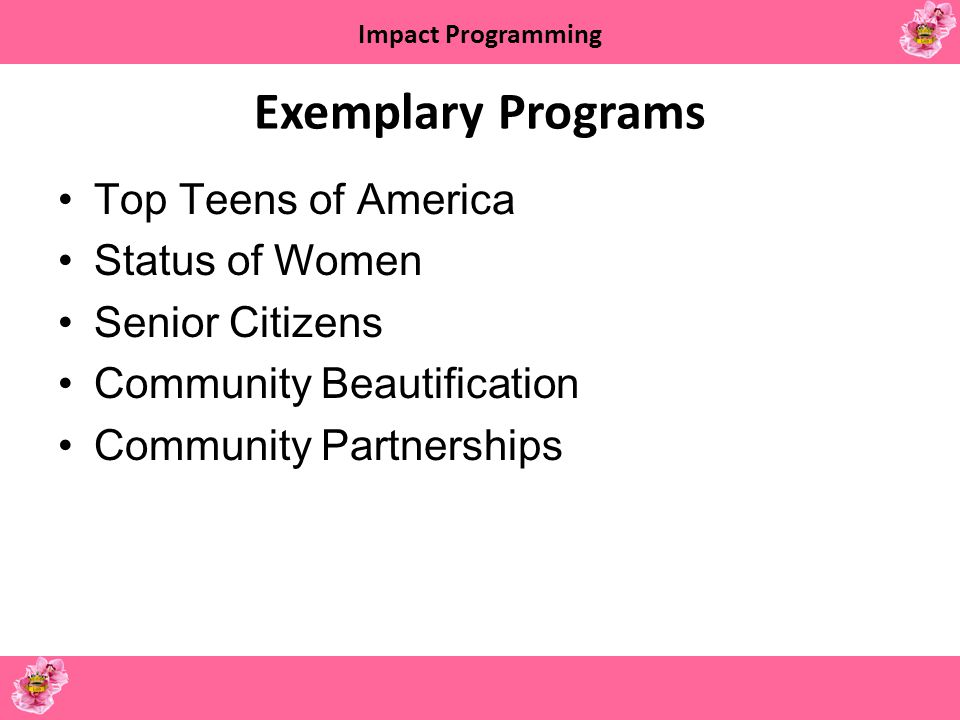 Impact Programming Top Teens of America March of Dimes