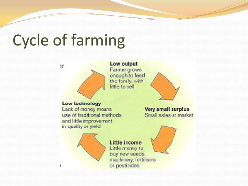 Cycle of farming