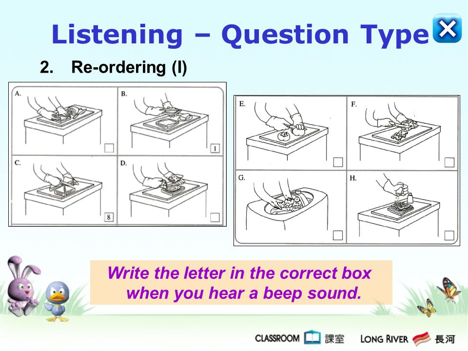 Reading 1.Multiple Choice (II) Choose the best answer by blackening the circle.