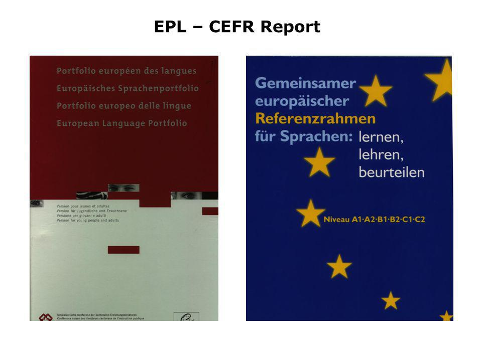 EPL – CEFR Report