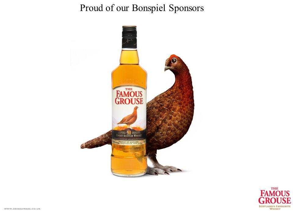 Our Bonspiel Sponsors Proud of our Bonspiel Sponsors
