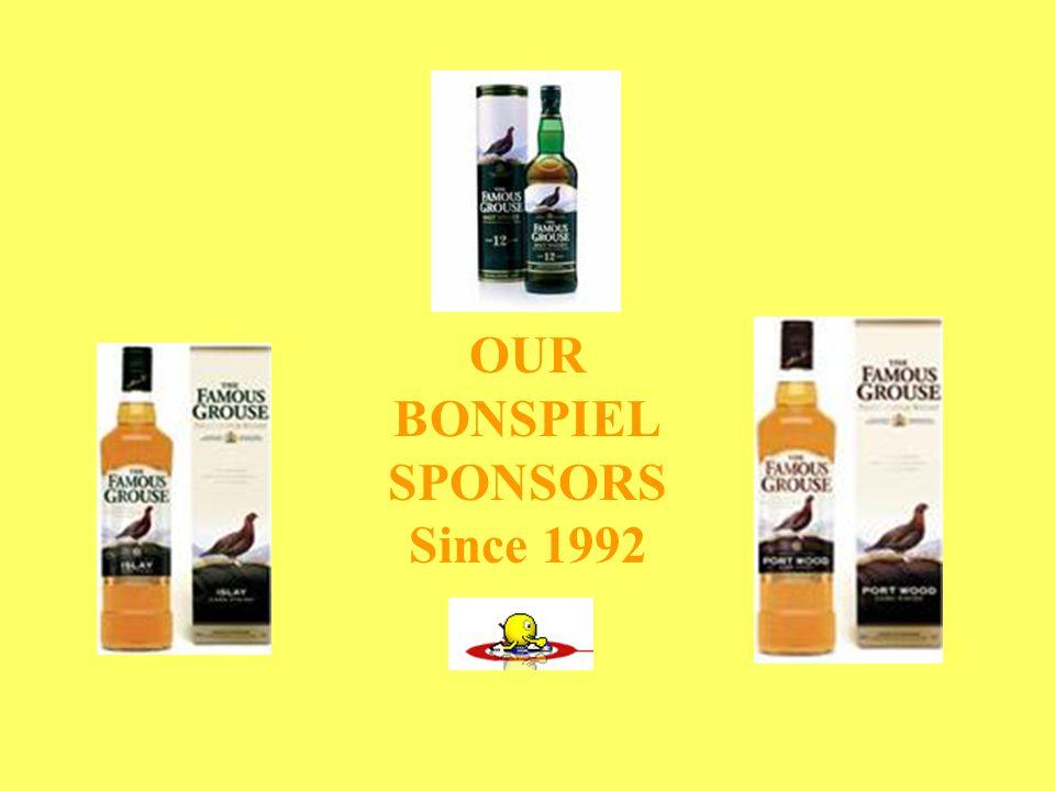 OUR BONSPIEL SPONSORS Since 1992