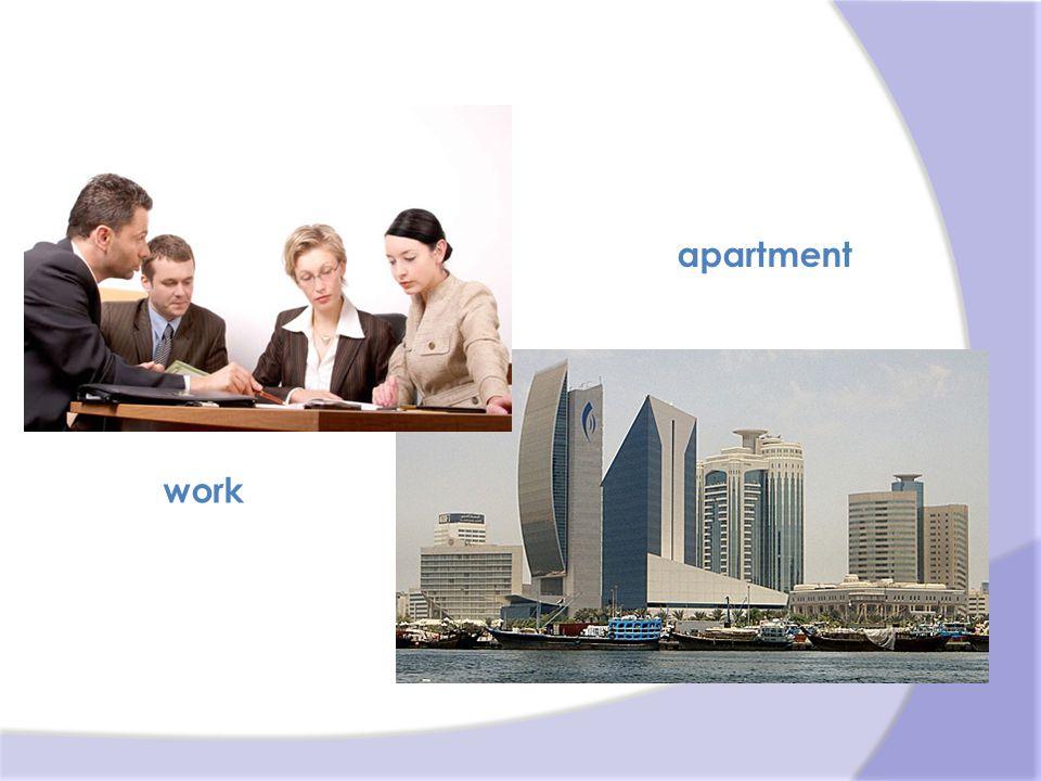 work apartment
