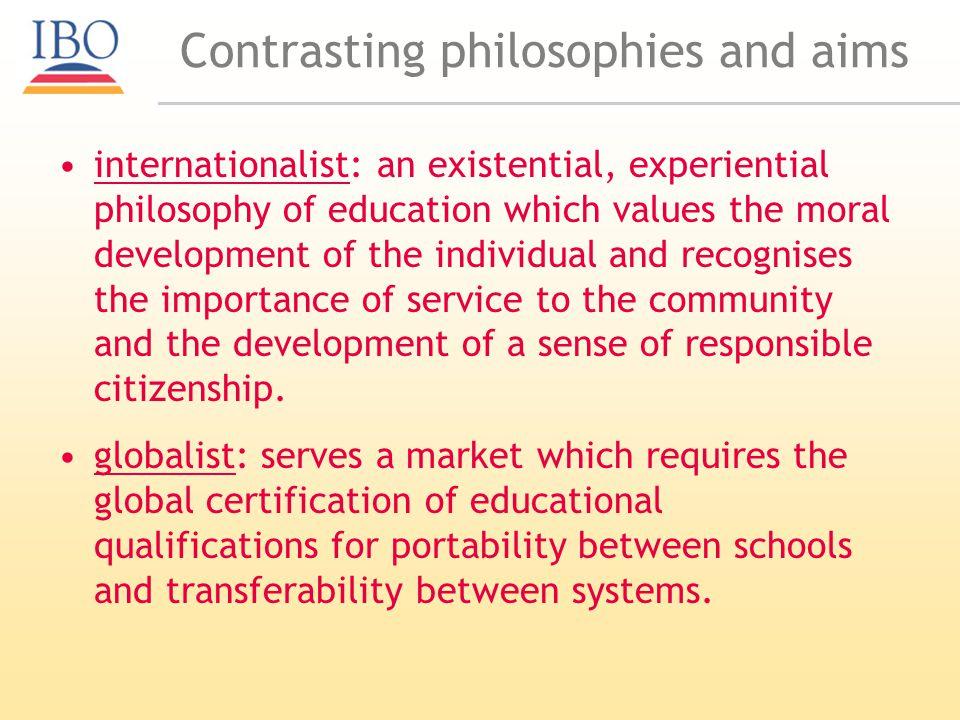 Typology of schools