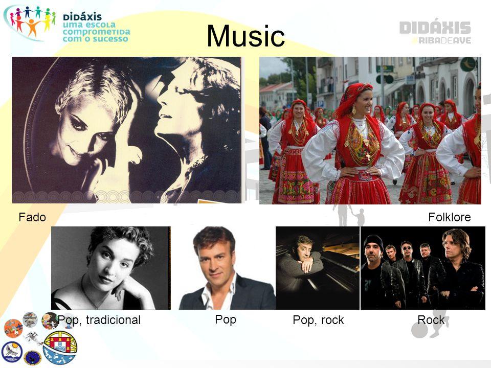 Music FadoFolklore Pop, tradicional Pop Pop, rockRock