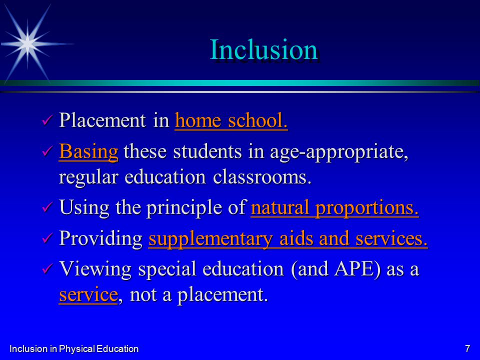 Inclusion in Physical Education 18 Other Important Court Cases Greer v.