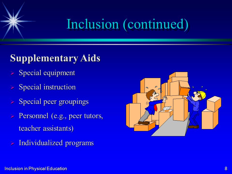 Inclusion in Physical Education 19 Other Important Court Cases (cont.) Sacramento (CA) City Unified School District v.