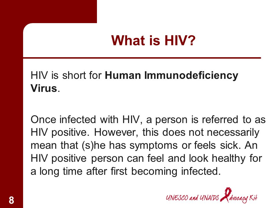 7 HIV/AIDS can spread very fast