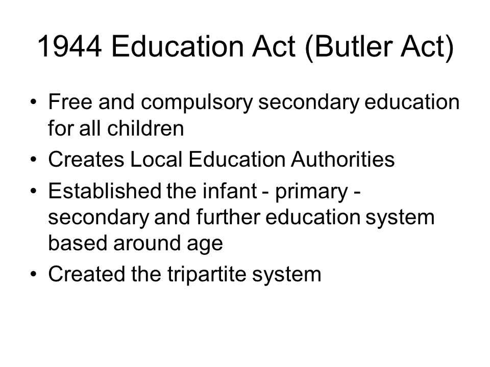 Conclusions Since 1980s an erosion of Local Education Authorities power Increased diversification and weakening of the common school ideal Marketisation of the system through fees, league tables and Ofsted reports National curriculum allows schools to be compared on result