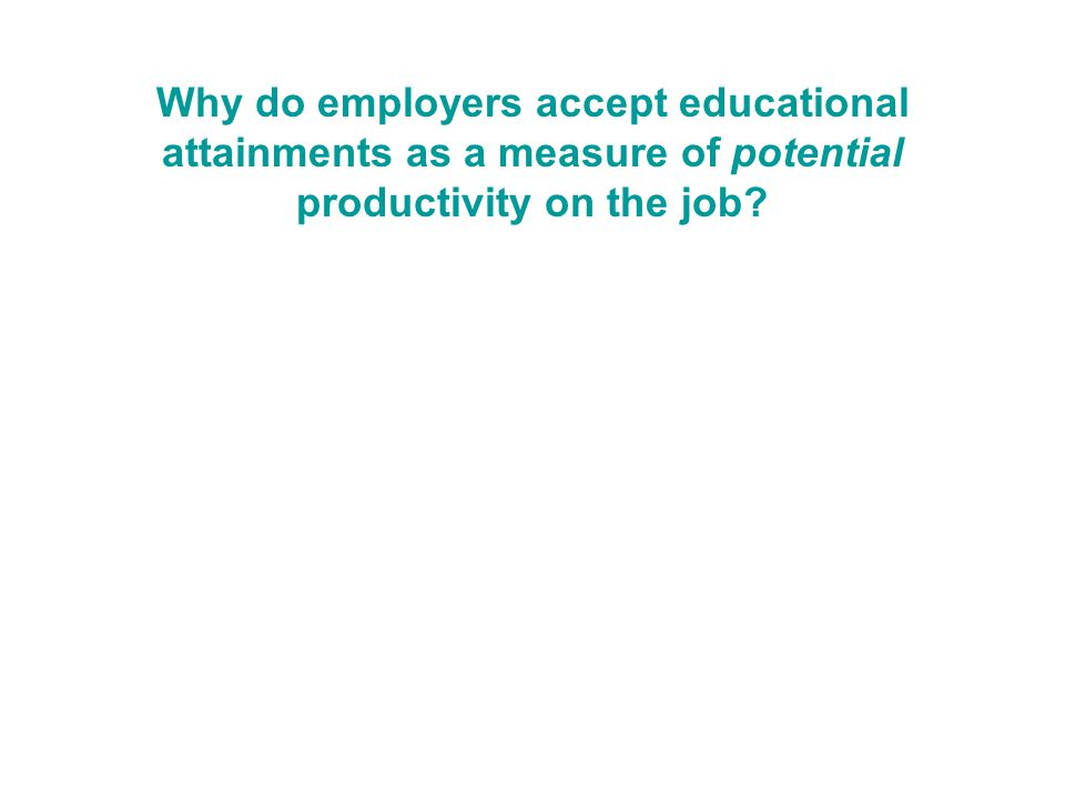 How employers hire What additional information about job candidates influences employer hiring decisions.