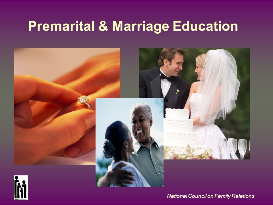 National Council on Family Relations Premarital & Marriage Education